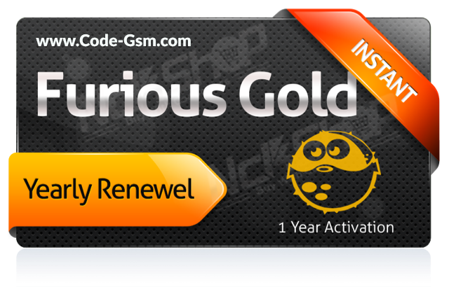 Furious Gold Yearly Activation