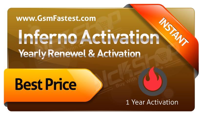 inferno Tool Activation - Renewel