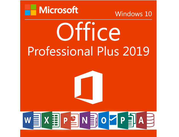 Microsoft Office 2019 Professional 1 (PC)