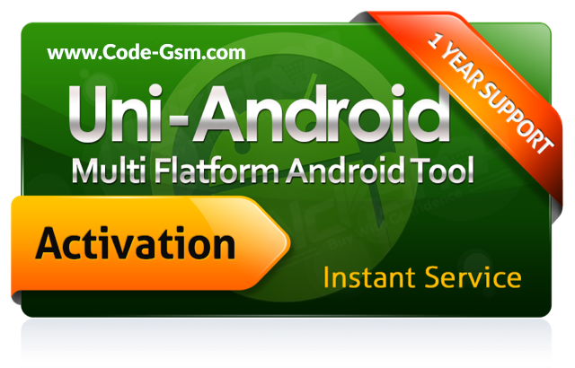 Uni-Android Tool - 1 Year Activation